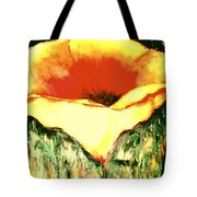 Poppy Cup Of Gold  Tote Bag