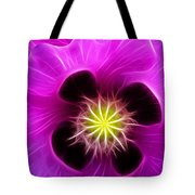 Poppy In Pink Tote Bag