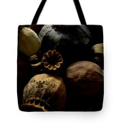 Poppy Pods Tote Bag