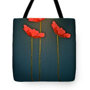 Poppy Power Tote Bag
