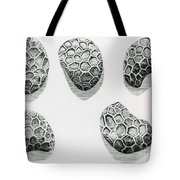 Poppy Seeds Engraving-1665 Tote Bag