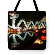 Porcelain Dragon Tote Bag by Semmick Photo