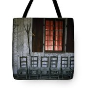 Porch Of The Bolduc House Museum Tote Bag