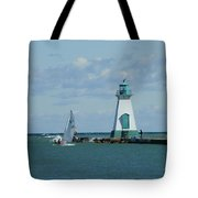 Port Dalhousie Lighthouse Tote Bag