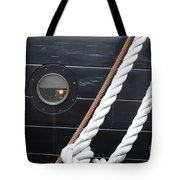 Port Hole Constellation Tote Bag