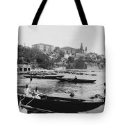Port Of Salacak Uskudar - Turkey Tote Bag