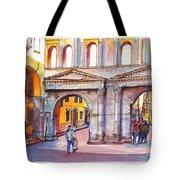 Porta Borsari Verona  First Century Ad Roman Gate Tote Bag
