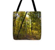 Portal Through The Woods Tote Bag