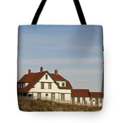 Portland Head Light Profile Tote Bag