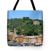 Portofino Hillside Tote Bag