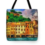 Portofino II Tote Bag by George Rossidis