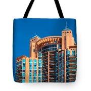 Portofino Tower At Miami Beach Tote Bag
