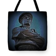 Portrait 33 American Civil War Tote Bag by David Dehner