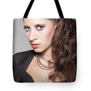 Portrait Of A Lady Tote Bag by Ralf Kaiser