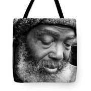 Portrait Of A Man In New Orleans Tote Bag
