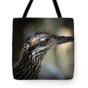 Portrait Of A Roadrunner  Tote Bag