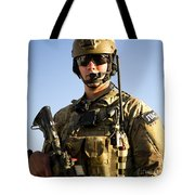 Portrait Of A U.s. Air Force Joint Tote Bag