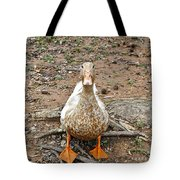 Portrait Of An Alabama Duck Tote Bag