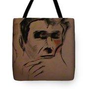 Portrait Of Frank Frazetta Tote Bag