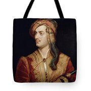 Portrait Of George Gordon Tote Bag