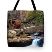 Portrait Of Glade Creek Mill Tote Bag