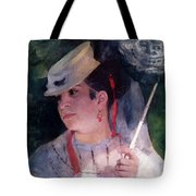 Portrait Of Lise Tote Bag