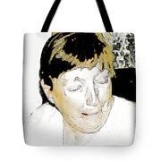 Portrait Of Tears 2 Tote Bag