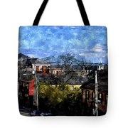 Portsmouth Nh North End Pnewc Tote Bag