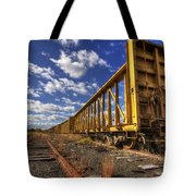 Portsmouth Rail Cars Tote Bag