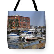 Portsmouth Waterfront Pwp Tote Bag