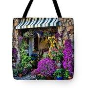 Positano Flower Shop Tote Bag