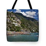 Positano Seaside Tote Bag