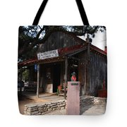 Post Office In Luckenbach Texas Tote Bag
