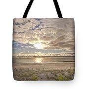 Post-tourist Sunrise Ocean City Tote Bag