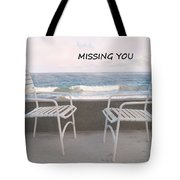 Poster Missing You Tote Bag
