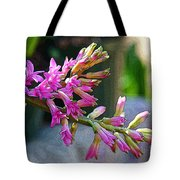 Posteredged Flowers Tote Bag
