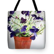 Pot Of Flowers One Tote Bag