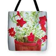 Pot Of Flowers Two Tote Bag