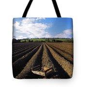 Potato Field, Ireland Tote Bag