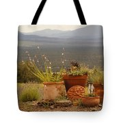 Pots And Vista Tote Bag
