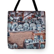 Pottery Market Tote Bag