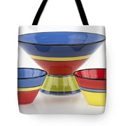 Pottery On White Tote Bag