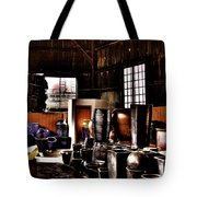Pottery Storage Building II Tote Bag