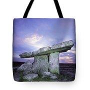 Poulnabrone Dolmen, The Burren, Co Tote Bag
