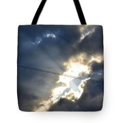 Power Of Light Tote Bag