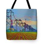 Power Plant Photo Art Tote Bag