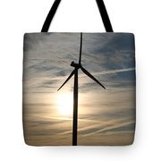 Power To The Sun Tote Bag