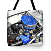 Powered By Ford Tote Bag