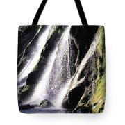 Powerscourt Waterfall, Co Wicklow Tote Bag