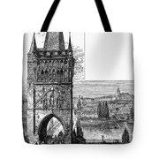 Prague: Carlsbridge Tote Bag